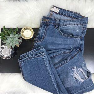 Cotton on Boyfriend Distressed Jeans #304